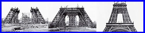 Construction Tour Eiffel