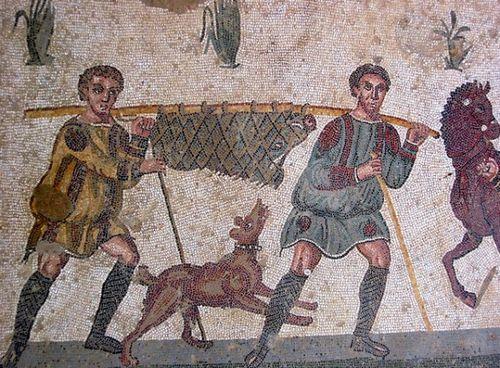 Mosaici gladiatori